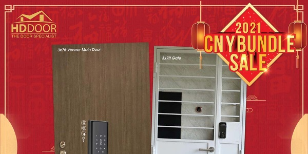 2021 Chinese New Year Special Promotion Offer For Door, Gate & Digital Lock Bundle Package