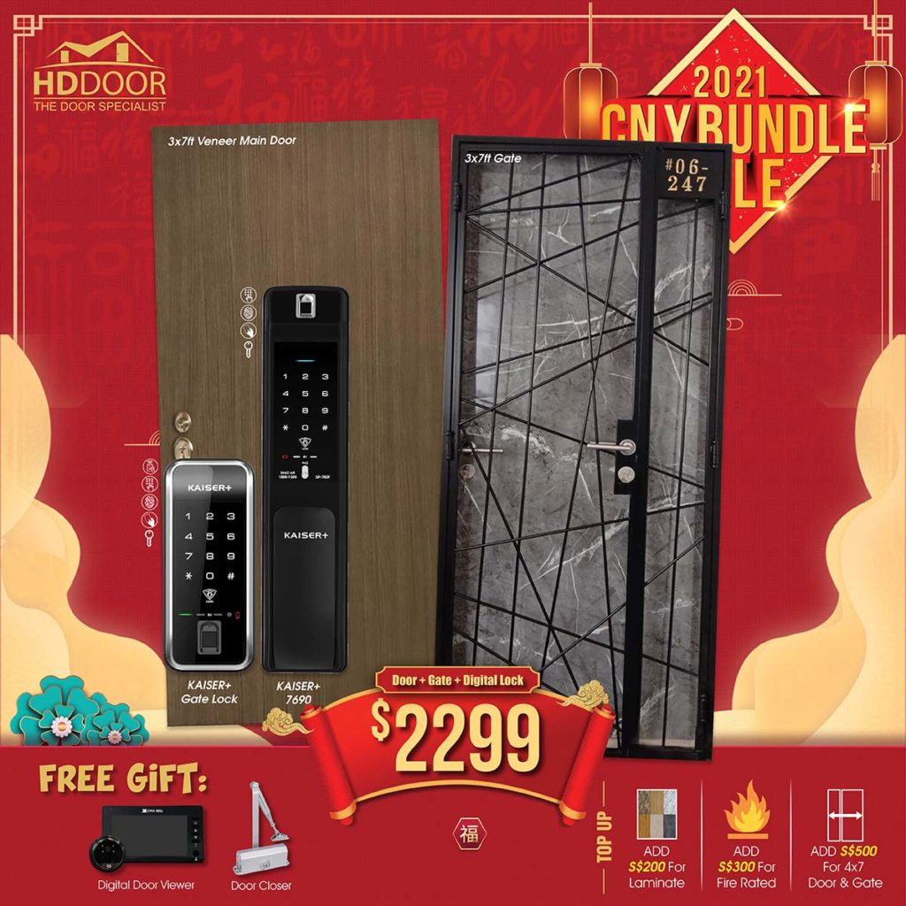 2021 Chinese New Year Special Promotion Offer For Door, Gate & Digital Lock Bundle Package | Why Not Deals 1