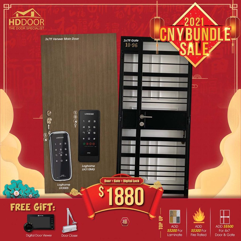 2021 Chinese New Year Special Promotion Offer For Door, Gate & Digital Lock Bundle Package | Why Not Deals 4