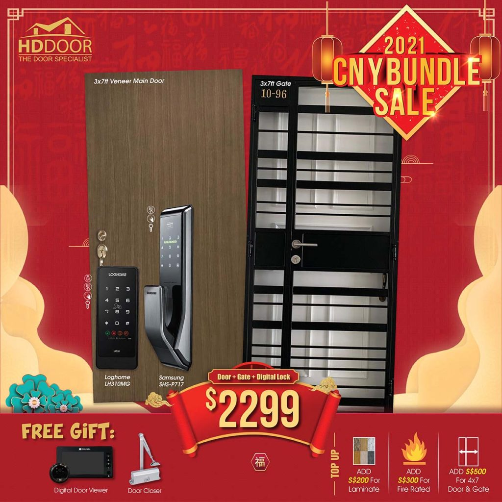 2021 Chinese New Year Special Promotion Offer For Door, Gate & Digital Lock Bundle Package | Why Not Deals 5