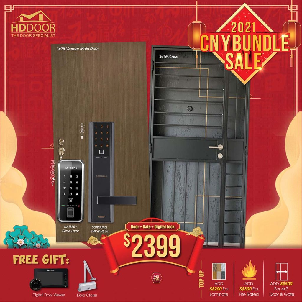2021 Chinese New Year Special Promotion Offer For Door, Gate & Digital Lock Bundle Package | Why Not Deals 6