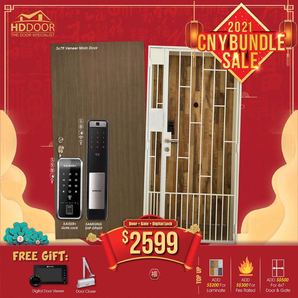 2021 Chinese New Year Special Promotion Offer For Door, Gate & Digital Lock Bundle Package | Why Not Deals 7
