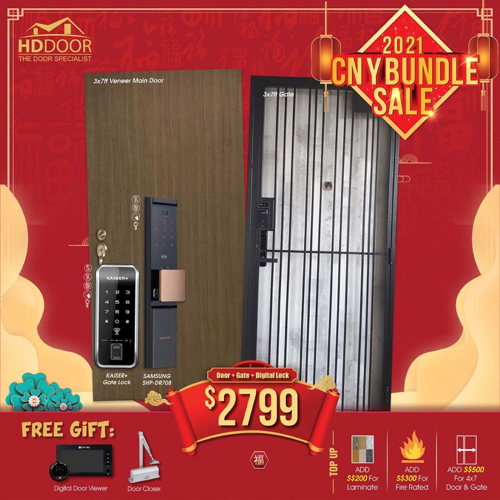2021 Chinese New Year Special Promotion Offer For Door, Gate & Digital Lock Bundle Package | Why Not Deals 8