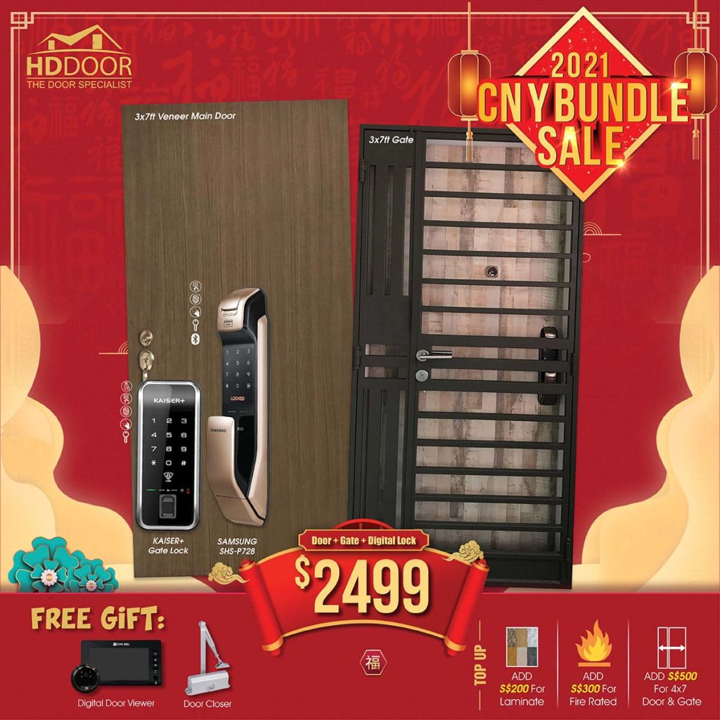 2021 Chinese New Year Special Promotion Offer For Door, Gate & Digital Lock Bundle Package | Why Not Deals 9