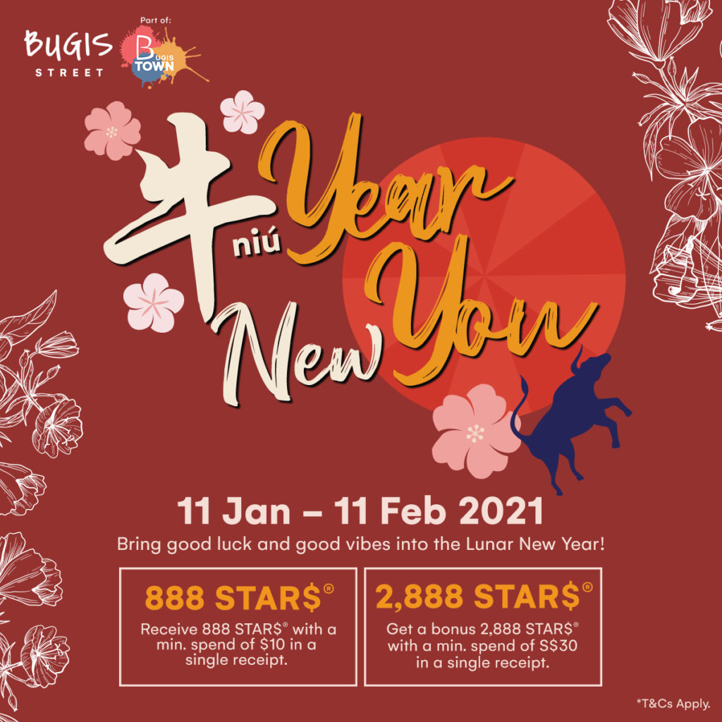 Bugis Street CNY Festive Rewards | Why Not Deals 1