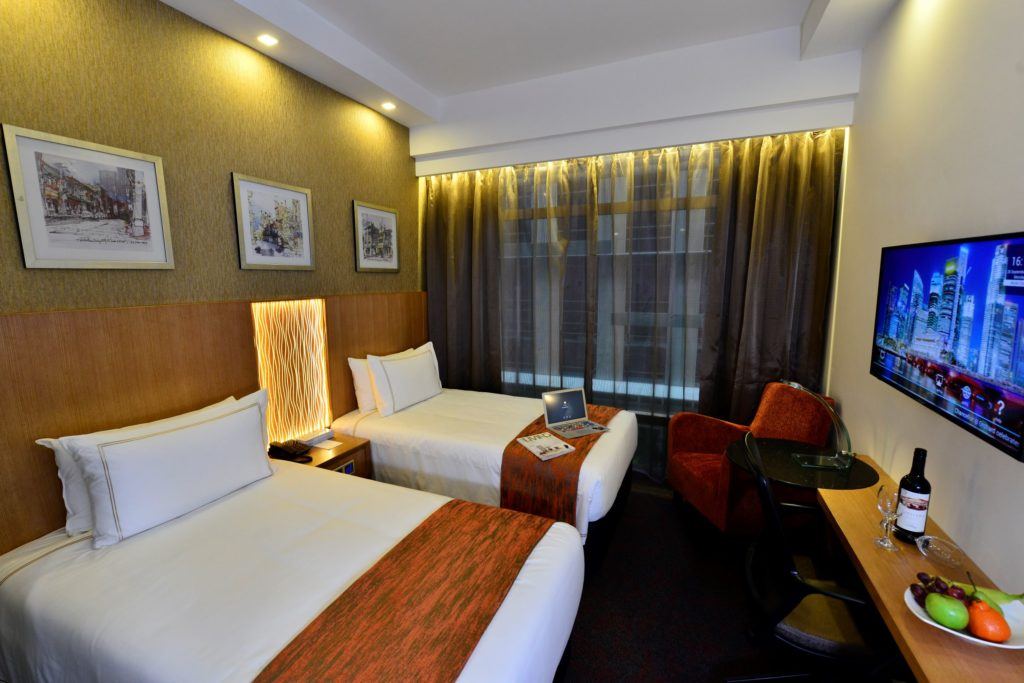 1-for-1 HGC plush Deluxe Double Room Promotion - Weekend getaway with Free Late Checkout & More | Why Not Deals 1