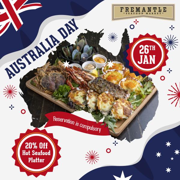 20% Off Seafood Platter & Free Flow Wine @ Fremantle Seafood Market | Why Not Deals 1