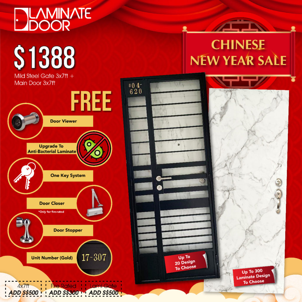 Chinese New Year Sale 2021 for Door, Gate and Digital Lock | Why Not Deals 2