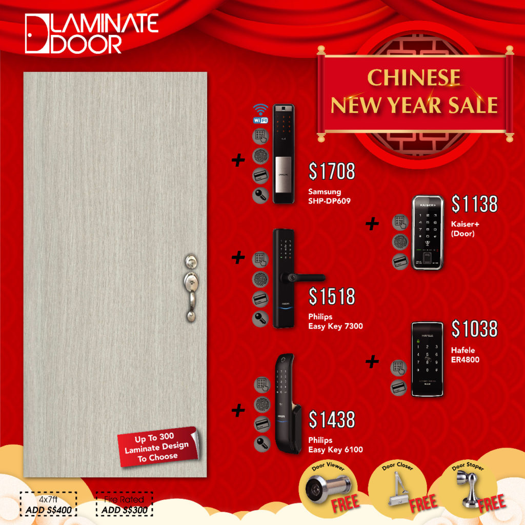 Chinese New Year Sale 2021 for Door, Gate and Digital Lock | Why Not Deals 3