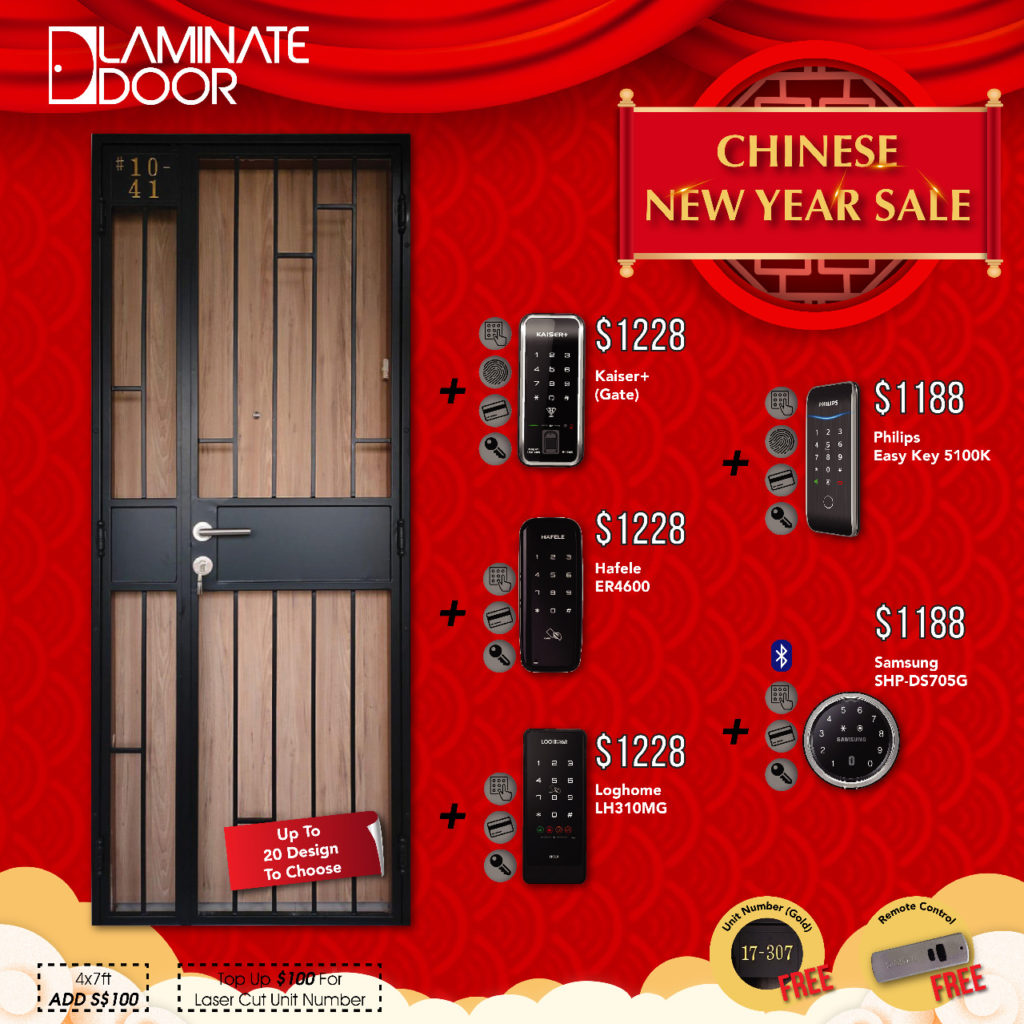 Chinese New Year Sale 2021 for Door, Gate and Digital Lock | Why Not Deals 5