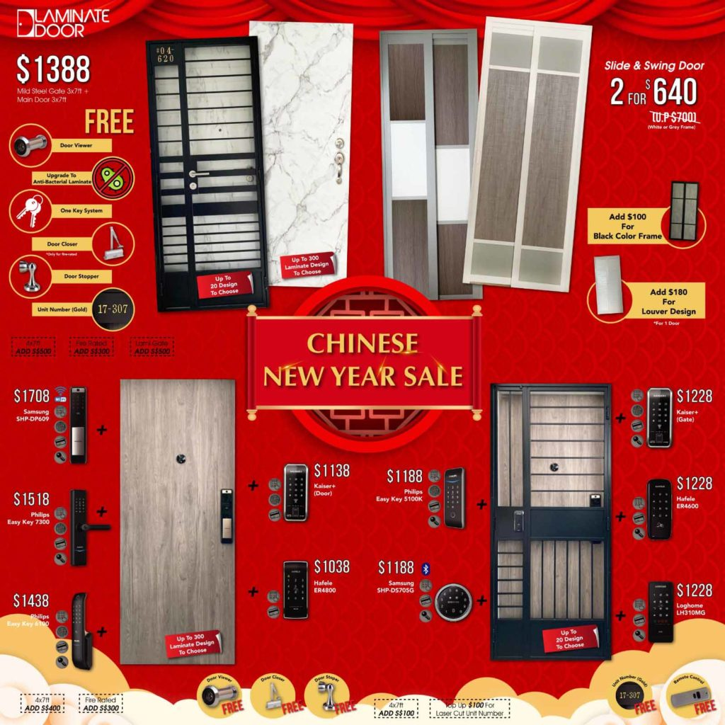 Chinese New Year Sale 2021 for Door, Gate and Digital Lock | Why Not Deals 1