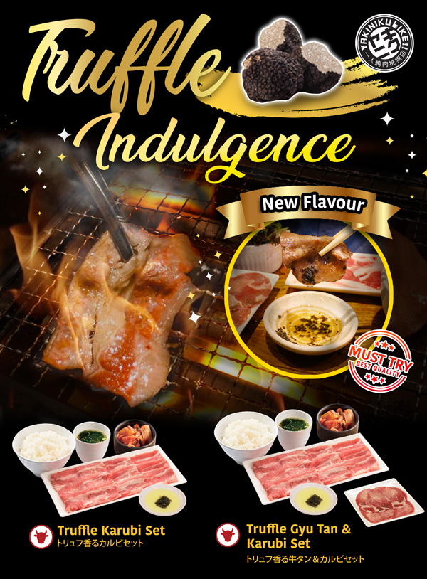 Celebrate the New Year with TRUFFLE YAKINIKU! | Why Not Deals 1