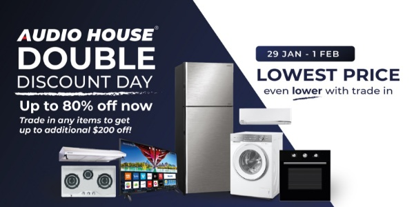 Audio House Double Discount Day