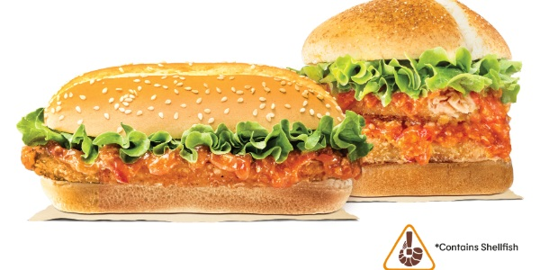 Burger King Lunar New Year Specials