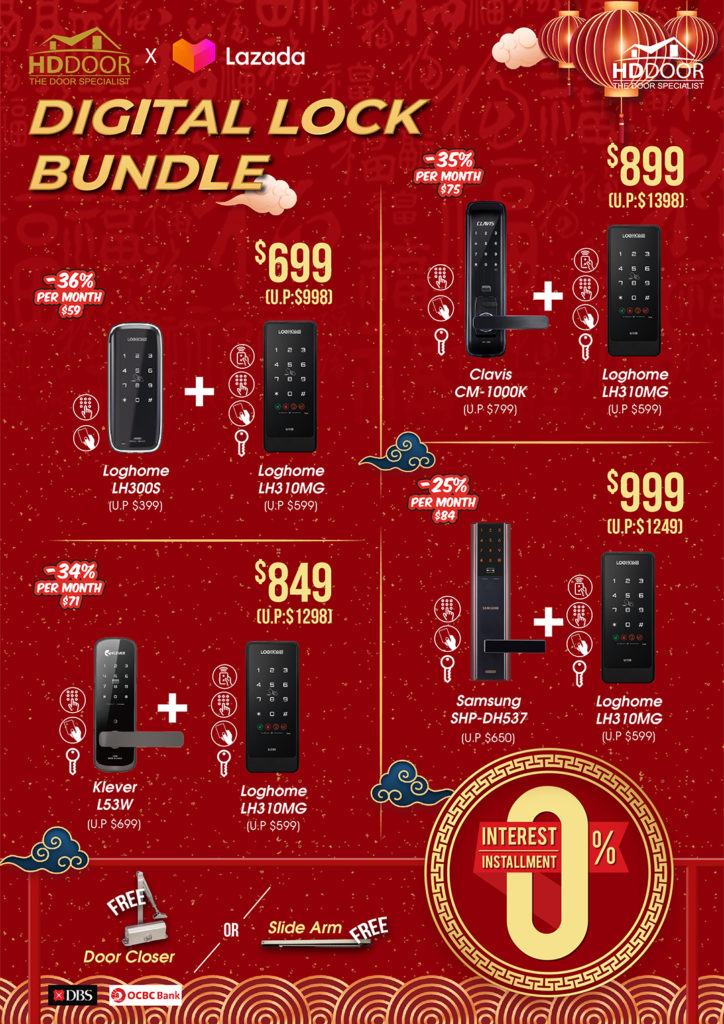 Chinese New Year Digital Lock Promotions & Sales 2021 | Why Not Deals