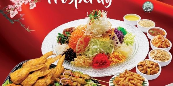 [Early Bird] Toss into Prosperity with Bali Thai's Fusion Festive Bundle for 4pax. Only $98!!