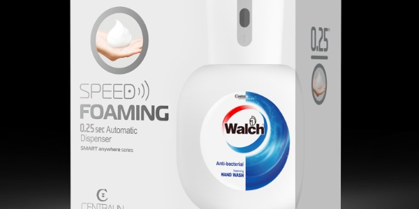 Get a free contactless Walch® Speed Foaming Automatic Hand Wash