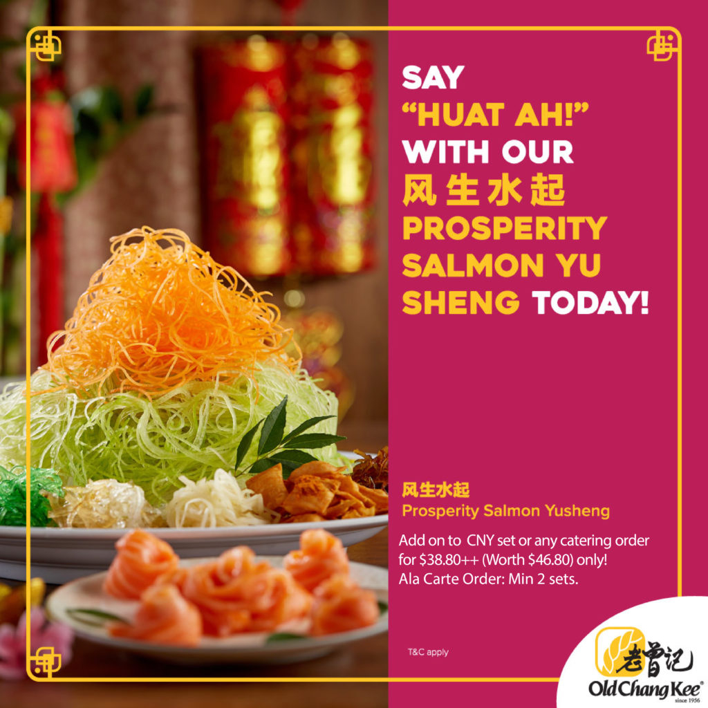 Old Chang Kee Singapore FREE Items of up to $65 for every CNY Catering Set ordered! (Savings up to 40%!) | Why Not Deals 4