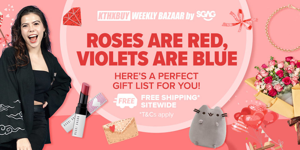 Lazada Singapore Weekly Bazaar By SGAG 2021 Resolution, CNY #OOTD, Valentine's Day Special, CNY Checklist Promotions 5 Jan – 1 Feb 2021