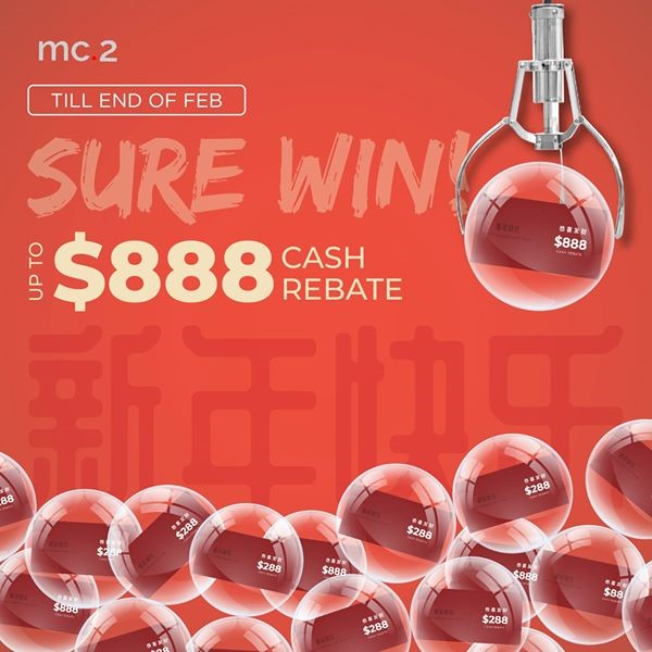 [mc.2 CNY Promo] Sure Win from $88 to $888 Cash Rebate Off Your Curtains/ Blinds Purchase! | Why Not Deals 1