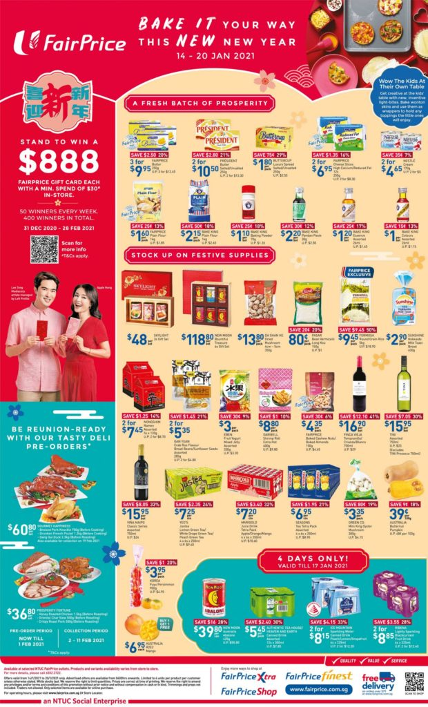 NTUC FairPrice Singapore Your Weekly Saver Promotions 14-20 Jan 2021   Why Not Deals 9