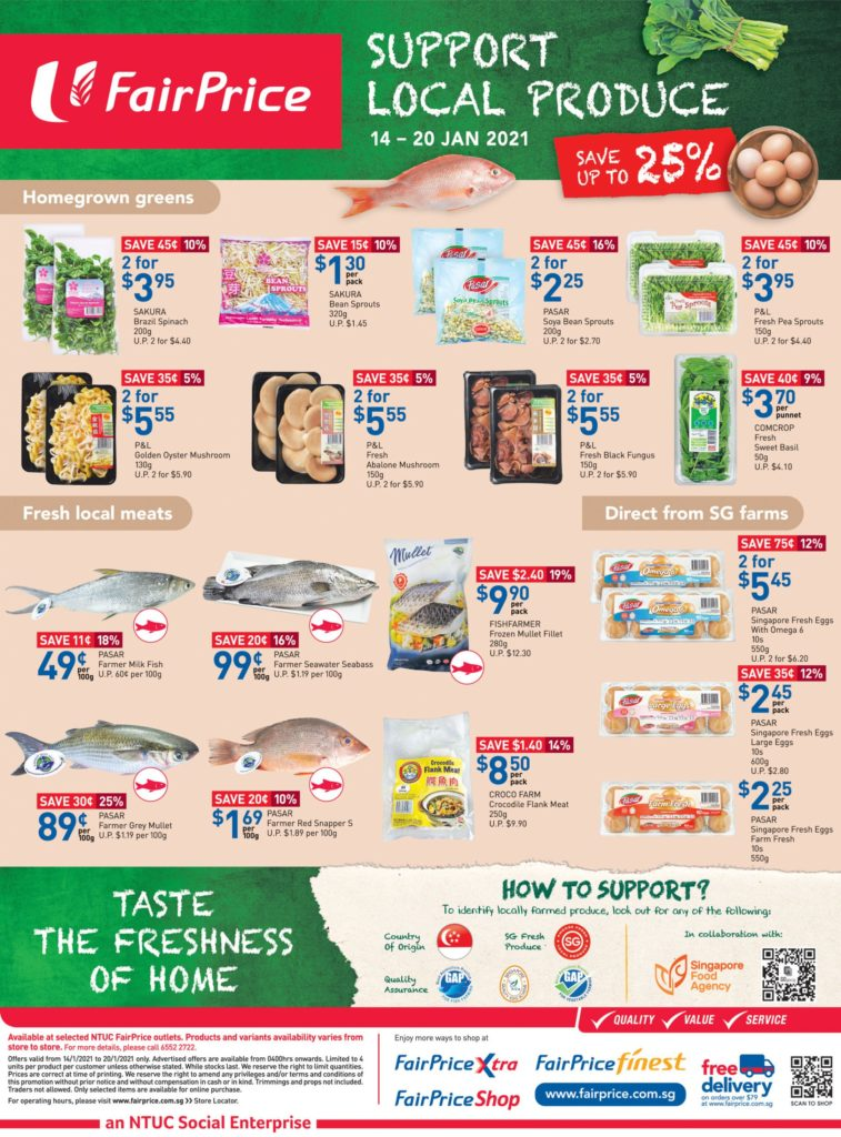 NTUC FairPrice Singapore Your Weekly Saver Promotions 14-20 Jan 2021   Why Not Deals 13