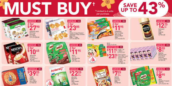 NTUC FairPrice Singapore Your Weekly Saver Promotions 14-20 Jan 2021