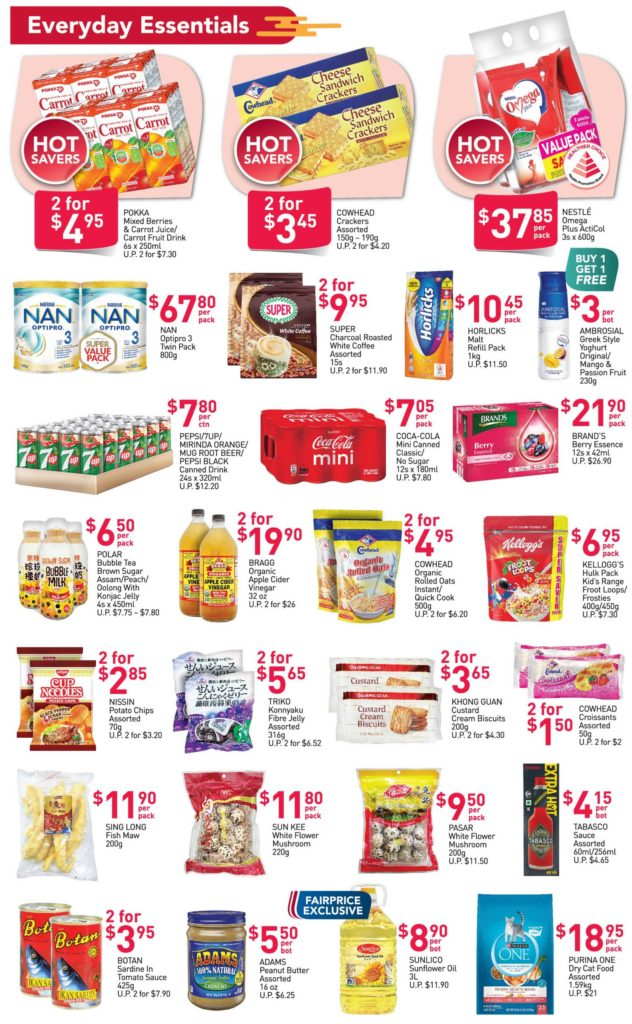NTUC FairPrice Singapore Your Weekly Saver Promotions 14-20 Jan 2021   Why Not Deals 2