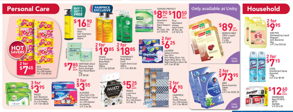 NTUC FairPrice Singapore Your Weekly Saver Promotions 14-20 Jan 2021   Why Not Deals 6
