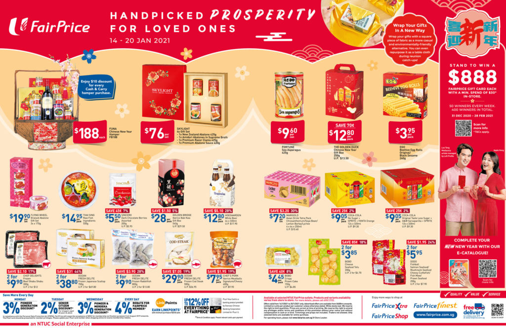 NTUC FairPrice Singapore Your Weekly Saver Promotions 14-20 Jan 2021   Why Not Deals 8