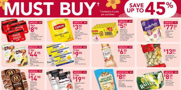 NTUC FairPrice Singapore Your Weekly Saver Promotions 28 Jan – 3 Feb 2021