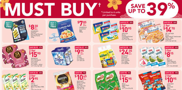NTUC FairPrice Singapore Your Weekly Saver Promotions 7-13 Jan 2021