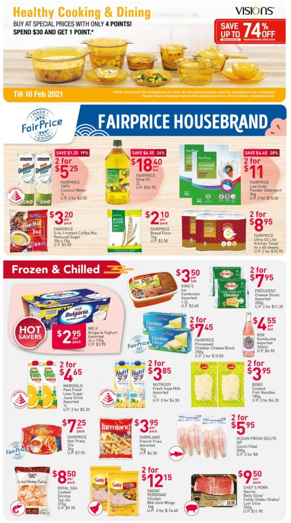 NTUC FairPrice Singapore Your Weekly Saver Promotions 7-13 Jan 2021 | Why Not Deals 2