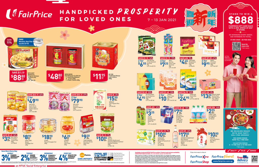 NTUC FairPrice Singapore Your Weekly Saver Promotions 7-13 Jan 2021 | Why Not Deals 8