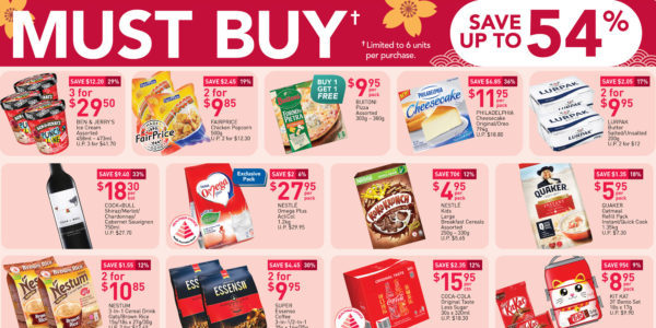 NTUC FairPrice Singapore Your Weekly Saver Promotions 21-27 Jan 2021