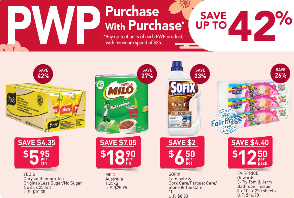 NTUC FairPrice Singapore Your Weekly Saver Promotions   Why Not Deals 1