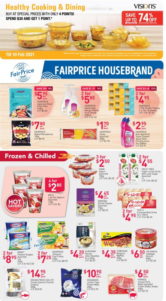 NTUC FairPrice Singapore Your Weekly Saver Promotions   Why Not Deals 2