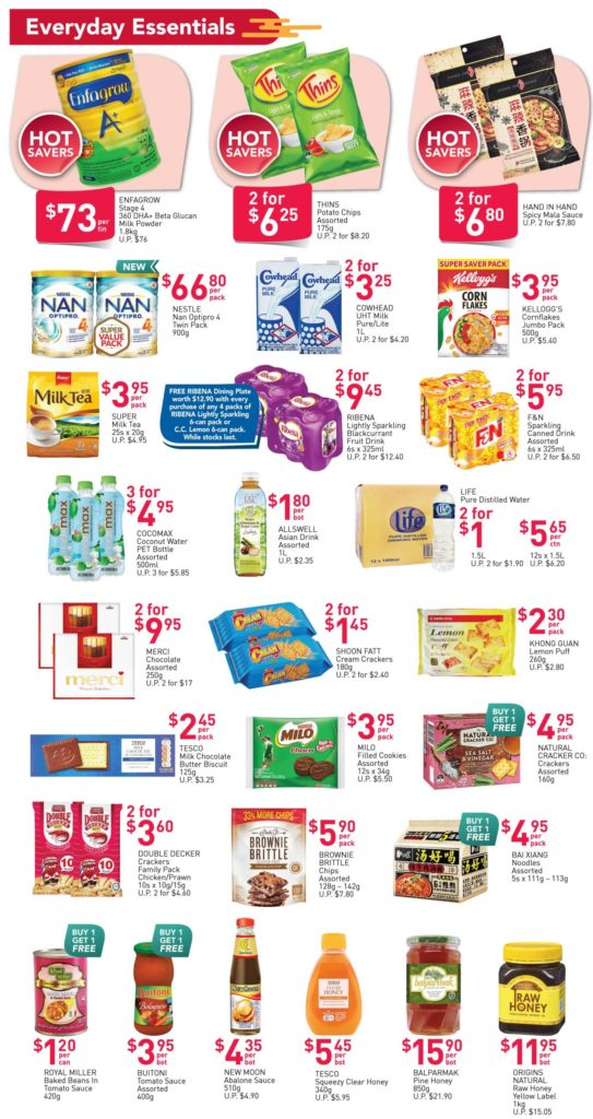 NTUC FairPrice Singapore Your Weekly Saver Promotions   Why Not Deals 3