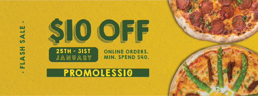 Spizza Singapore $10 Off Online Orders with  Promo Code 25-31 Jan 2021   Why Not Deals