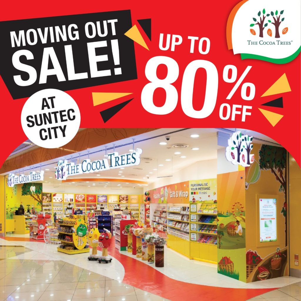 The Cocoa Trees Singapore Suntec City Moving Out Sale Up To 80% Off Promotion 1-20 Jan 2021 | Why Not Deals