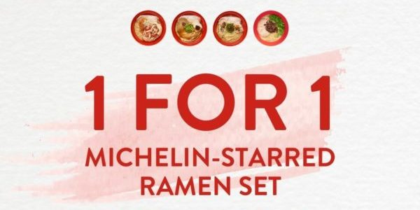 Tsuta Singapore 1-for-1 Michelin-Starred Ramen Set Promotion ends 15 Feb 2021