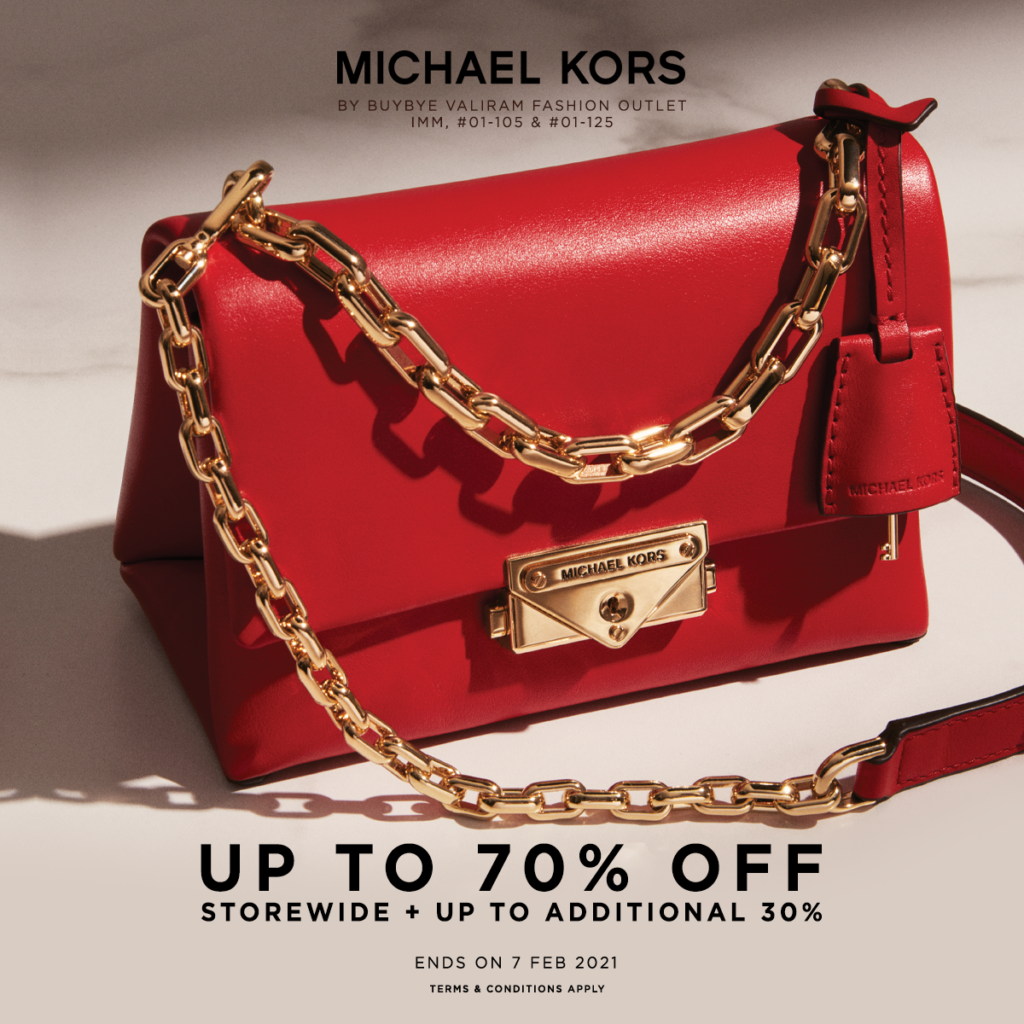 Michael Kors IMM Outlet Storewide Up to 70% + Additional Up to 30% Off | Why Not Deals 1