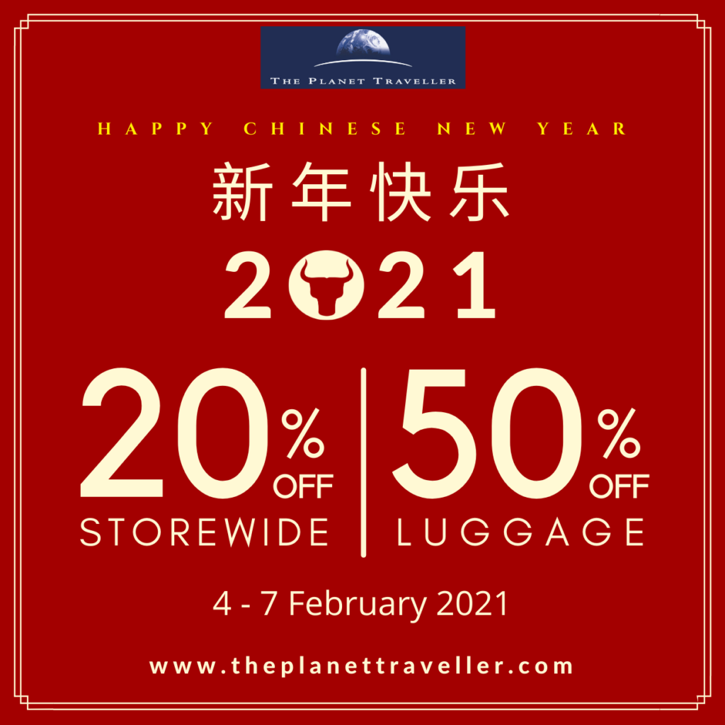 The Planet Traveller Chinese New Year Sale | Why Not Deals 1