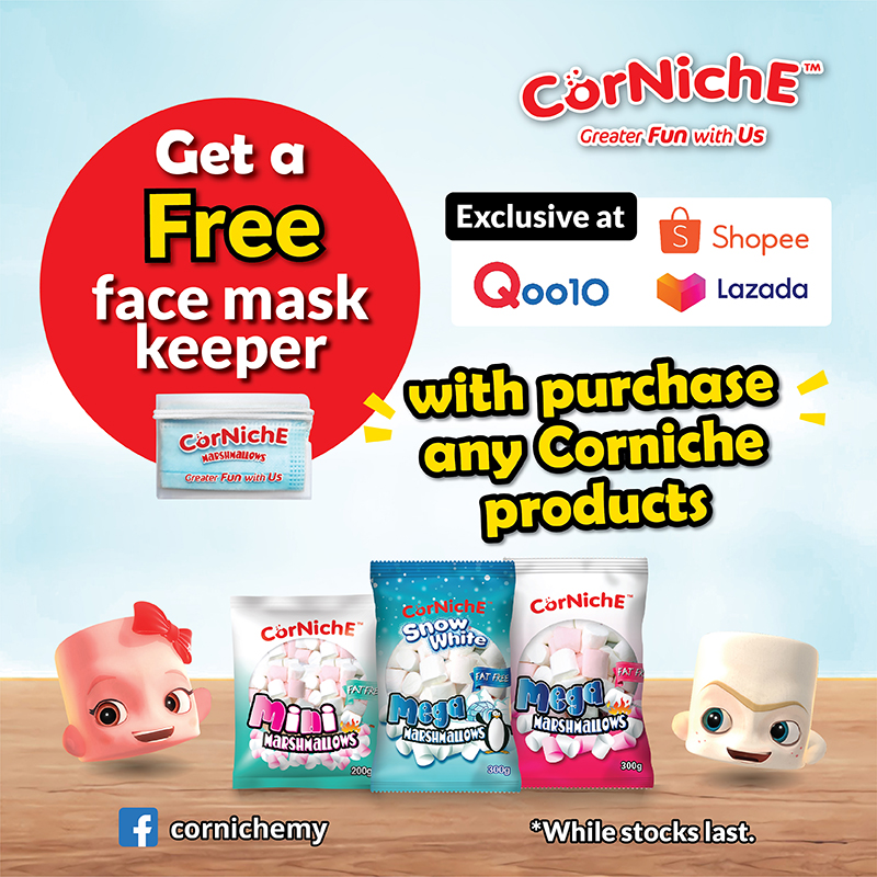 FREE Face Mask Keeper with any purchase! | Why Not Deals 1
