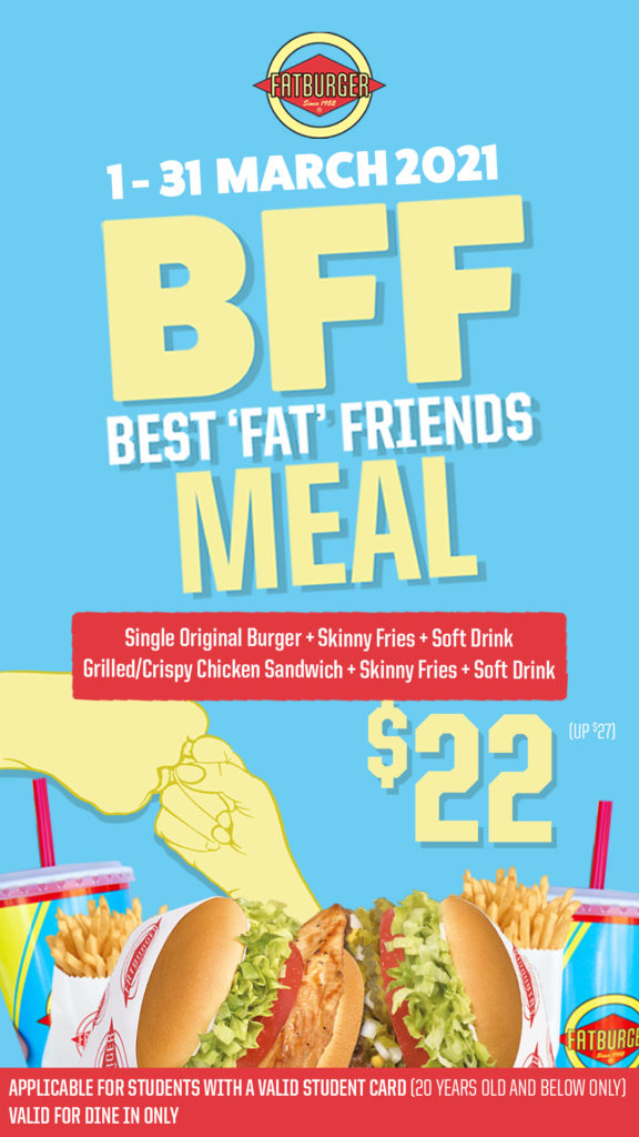 Up your BFF Game with Fatburger BFF Meal this March!  | Why Not Deals 2