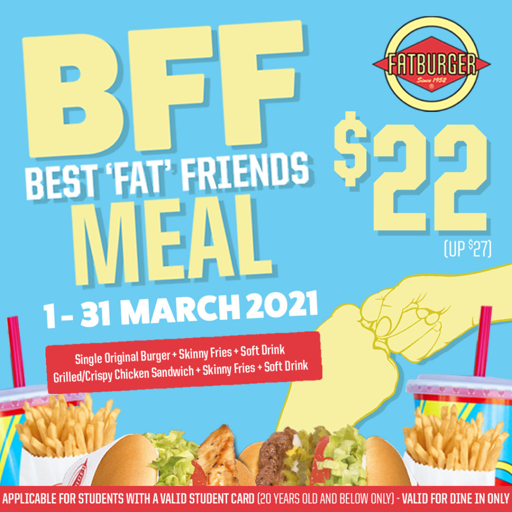 Up your BFF Game with Fatburger BFF Meal this March!  | Why Not Deals 1