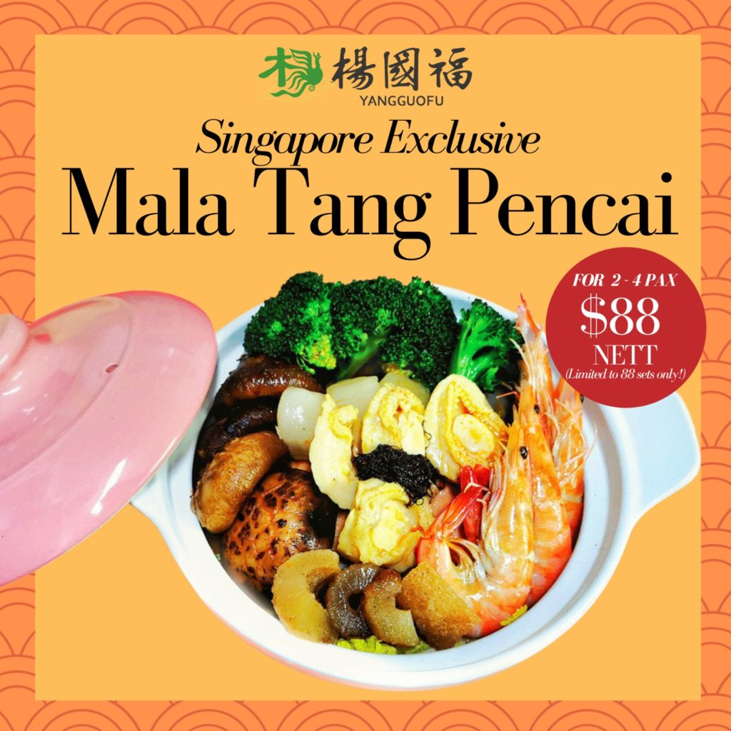 Mala Tang Pencai at ONLY $88 Nett! Includes abalone, scallops, sea cucumber and many more! Limited s | Why Not Deals 1
