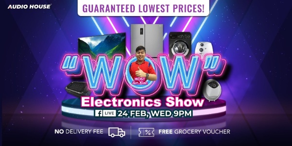 Audio House Electronics WOW Facebook Live