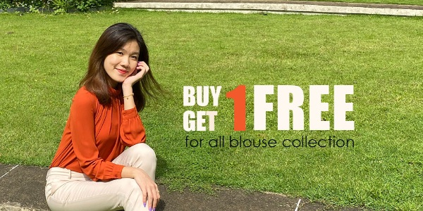 Summer Palette Singapore Buy 1 Get 1 Free for All Blouse Collection