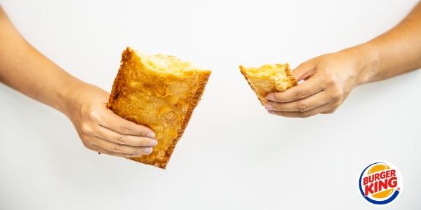 Free Upsized Golden Pie this Ren Ri at Burger King